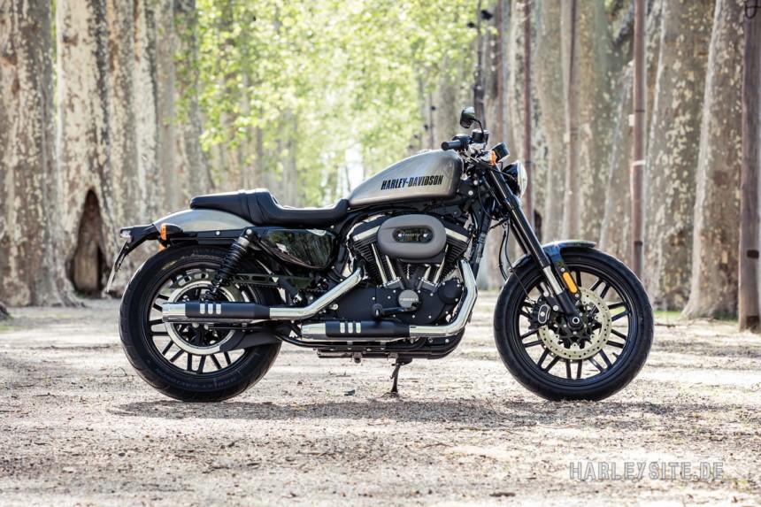 2016HD14 Die neue Harley Davidson Roadster 1