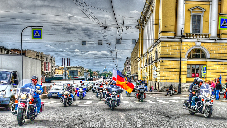 Sankt Petersburg Harley Days 2016