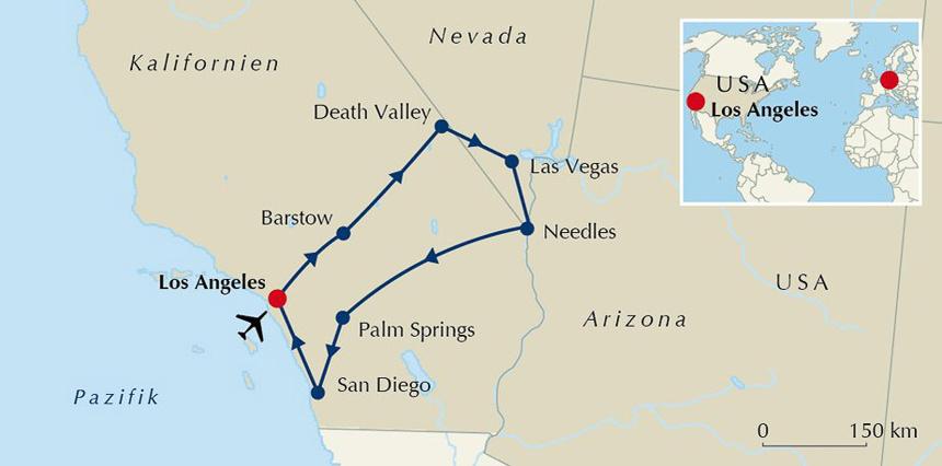 USA Südwesten Motorradtour