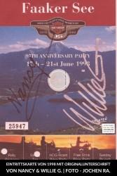 European Bike Week Faaker See Eintrittskarte 1998 (Bildnachweis Jochen Ra)