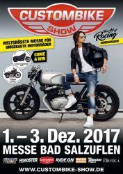 Custombike Show 2017 Plakat