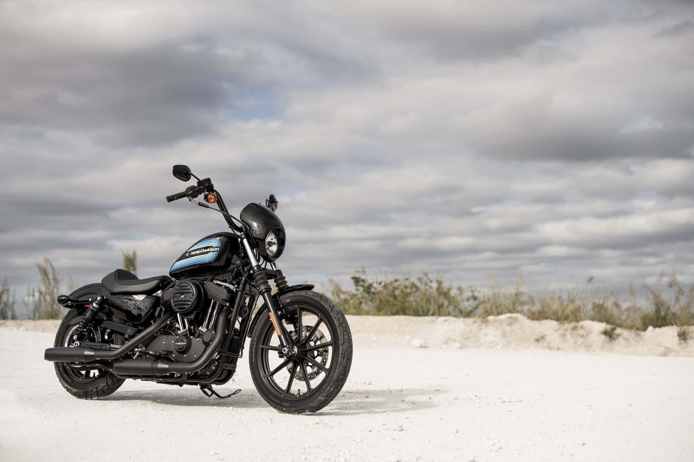 HARLEY-DAVIDSON FORTY-EIGHT SPECIAL AND IRON 1200 SPORTSTERS 12