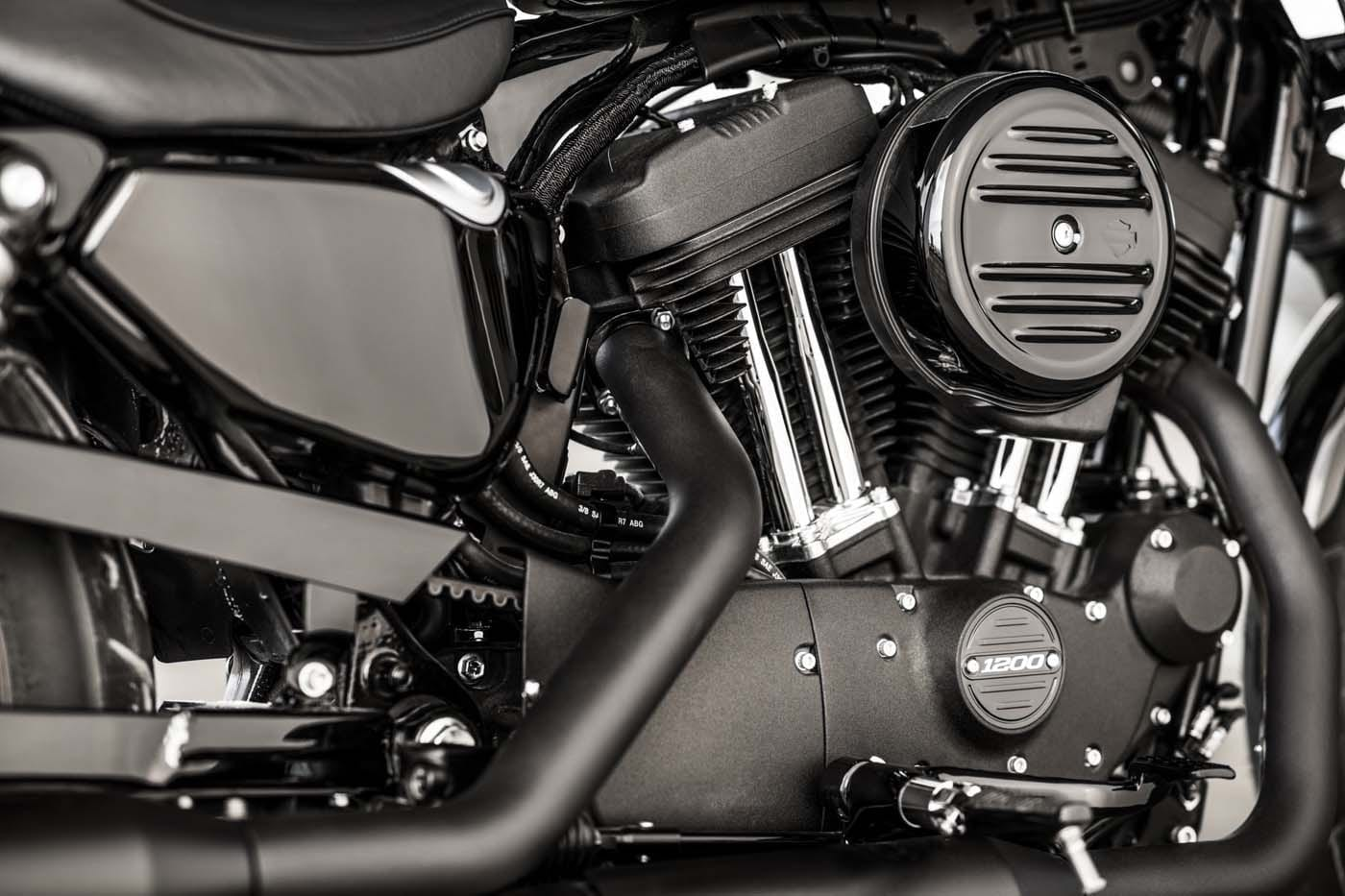 HARLEY-DAVIDSON FORTY-EIGHT SPECIAL AND IRON 1200 SPORTSTERS 8
