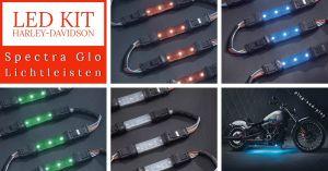 Spectra Glo LED Lichterketten Kit 6 Lampen Starterkit