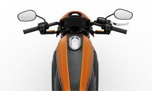 LiveWire Orange Denim