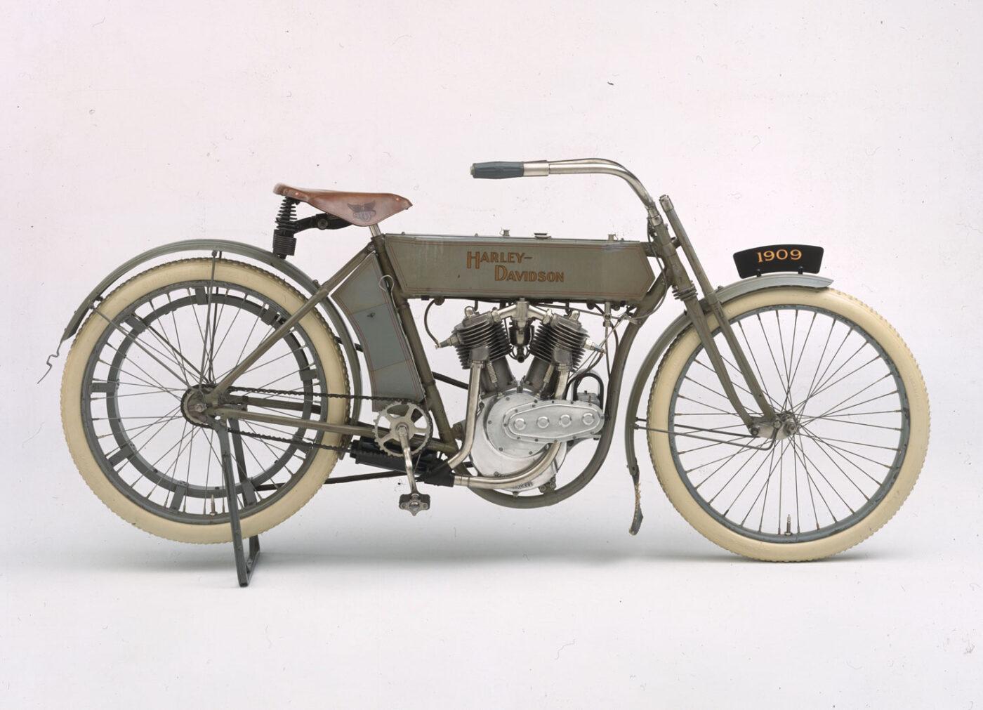 Harley-Davidson 1909 Model 5D