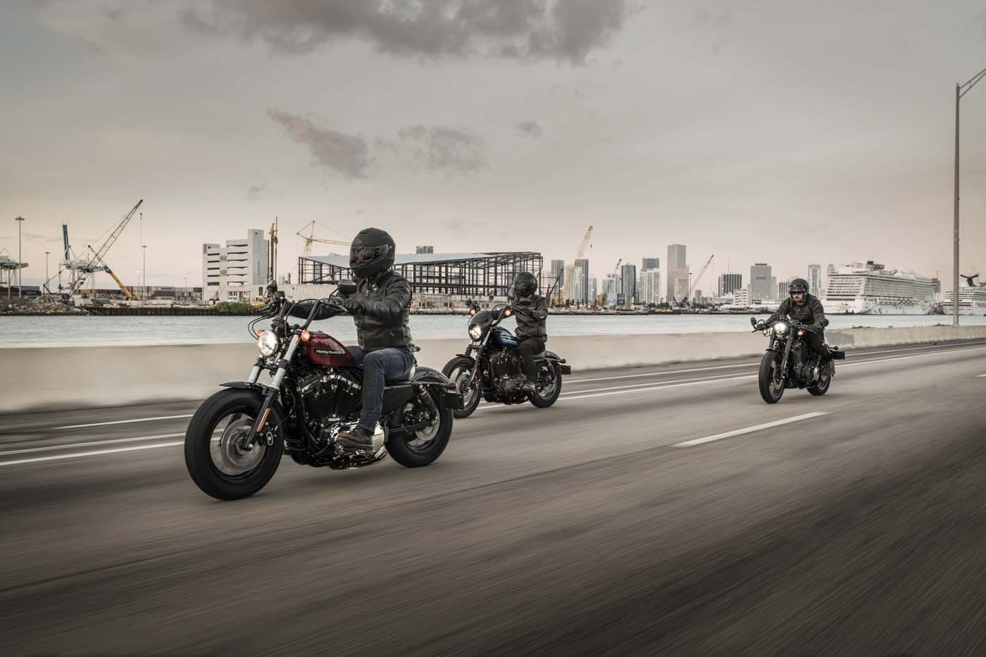 HARLEY-DAVIDSON FORTY-EIGHT SPECIAL AND IRON 1200 SPORTSTERS 20