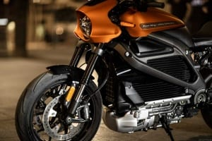 Harley-Davidson LiveWire Lackierung in Orange Fuse