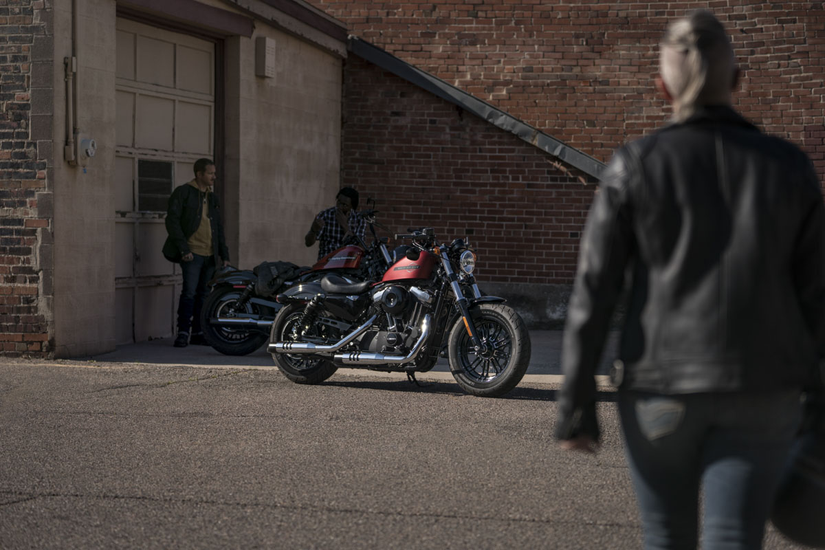 Harley-Davidson Forty-Eight Modelljahr 2019