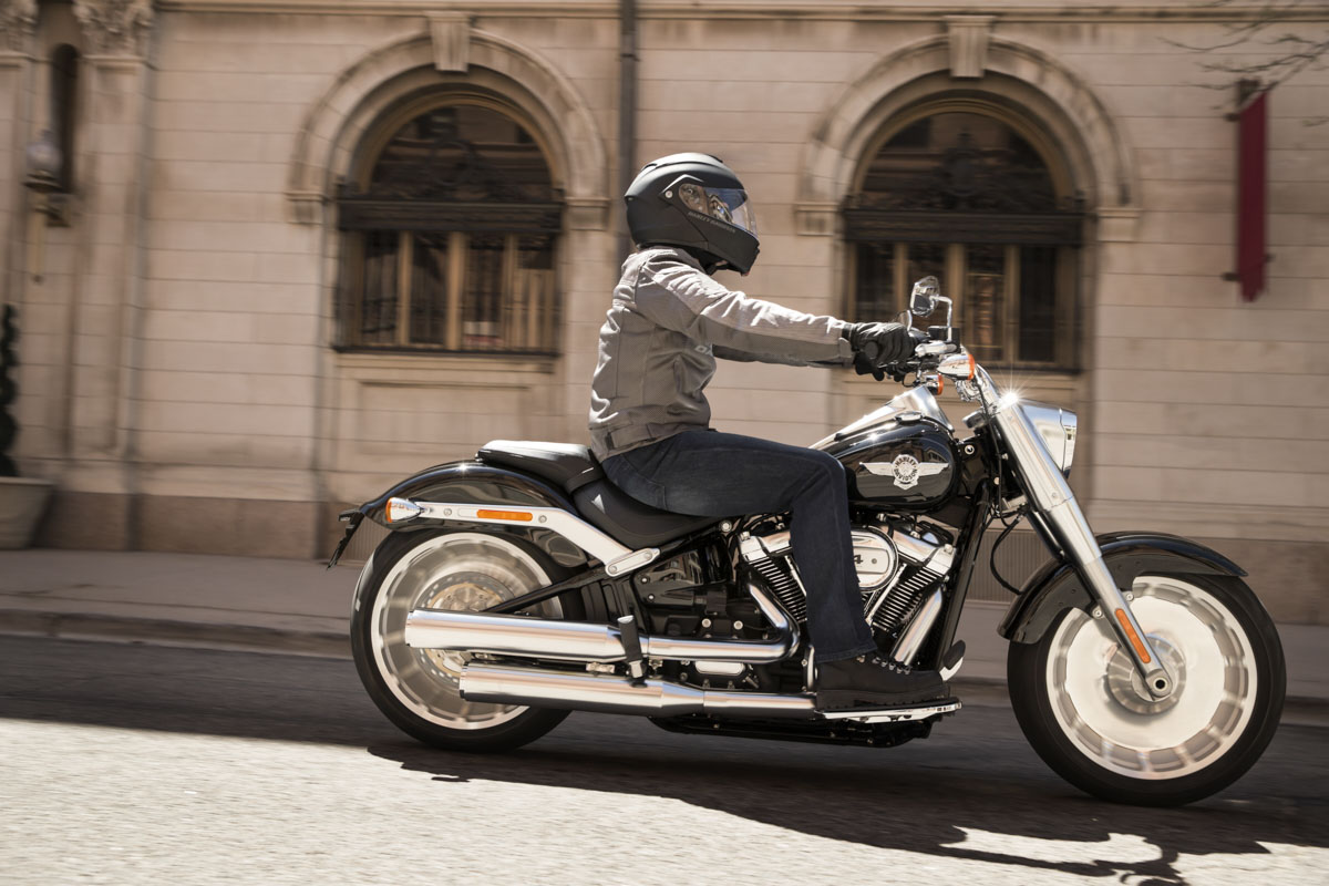 Harley-Davidson Fat Boy 114 Modelljahr 2019