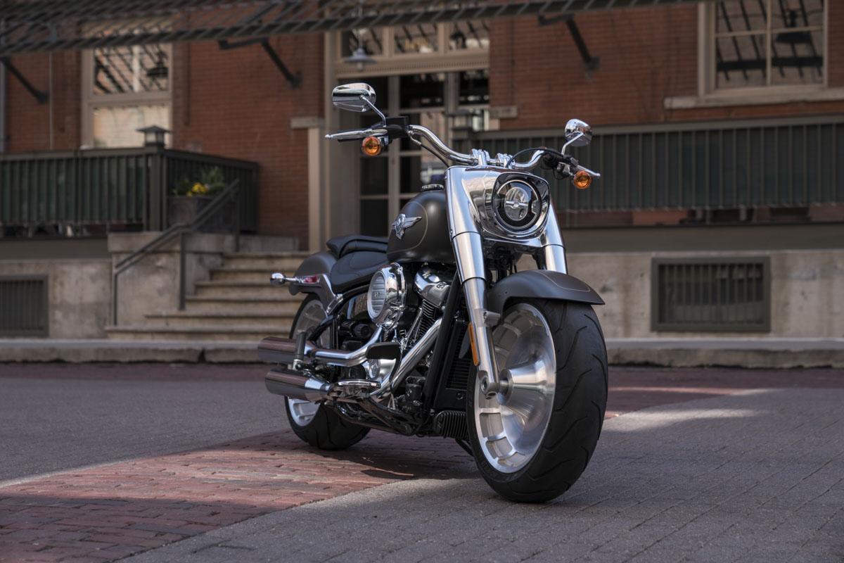 Harley-Davidson Fat Boy Modelljahr 2019