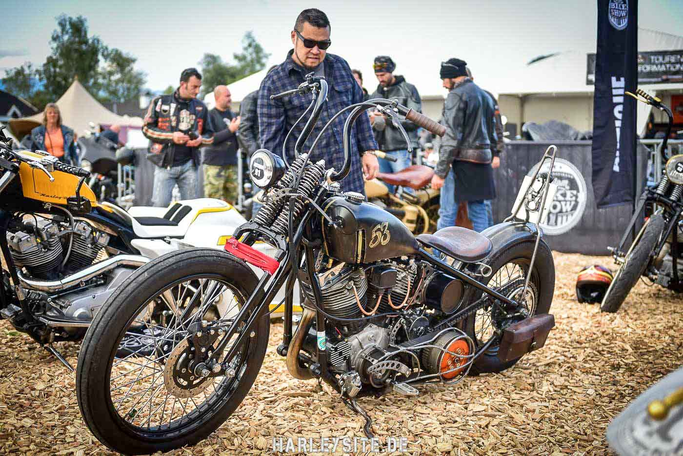 Bike Show im Harley Village