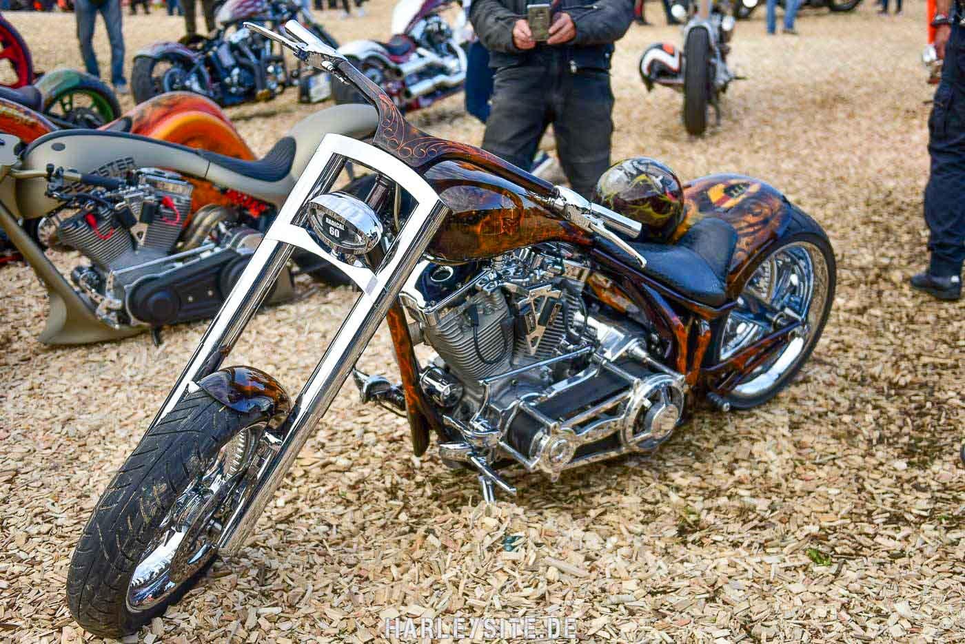 Bike Show im Harley Village