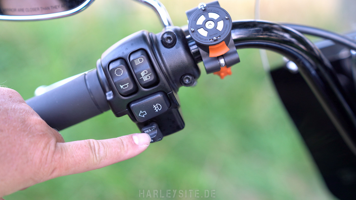 Tempomat An Der Harley-Davidson Heritage Classic 114 2019