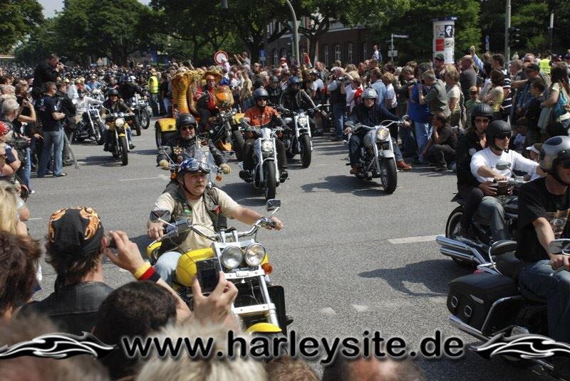 Hamburg Harley Days 2008-Ausfahrt-105