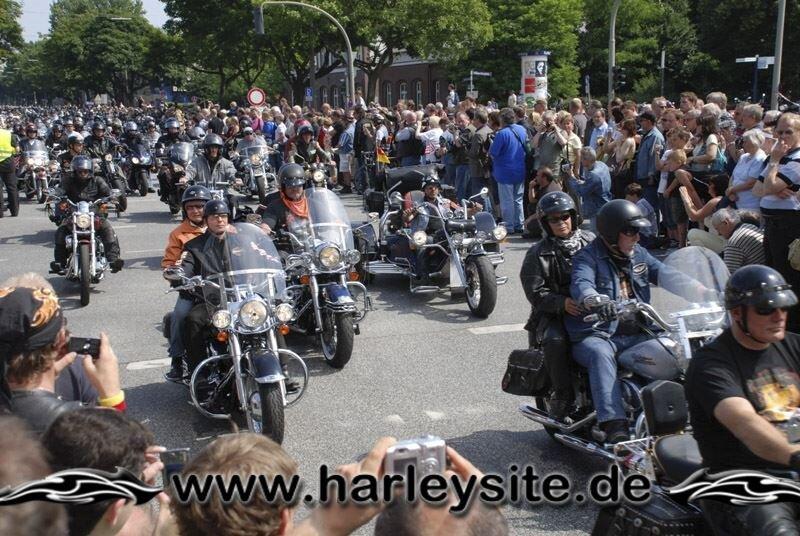 Hamburg Harley Days 2008-Ausfahrt-106