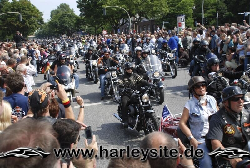 Hamburg Harley Days 2008-Ausfahrt-108