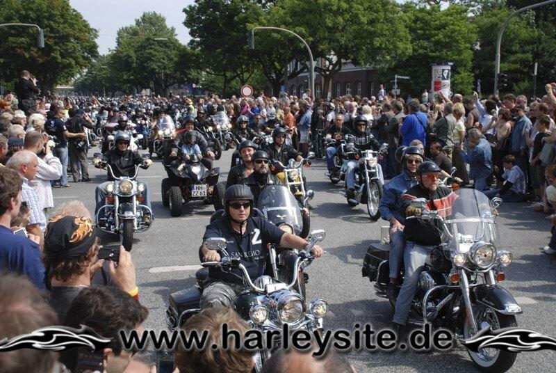 Hamburg Harley Days 2008-Ausfahrt-109