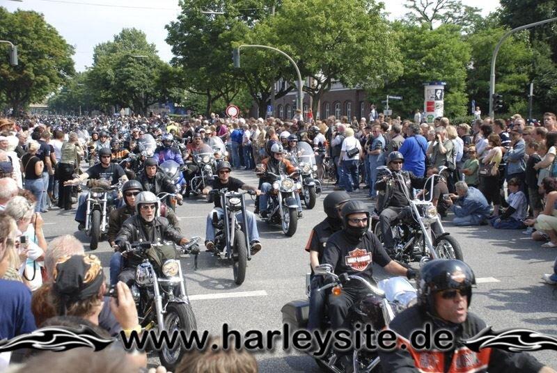Hamburg Harley Days 2008-Ausfahrt-124