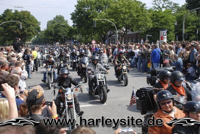 Hamburg Harley Days 2008-Ausfahrt-125