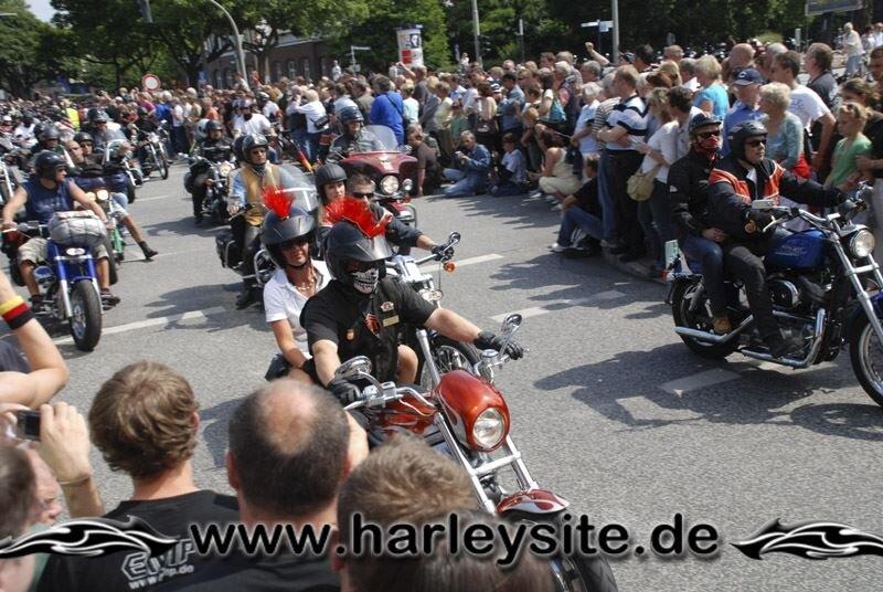 Hamburg Harley Days 2008-Ausfahrt-127