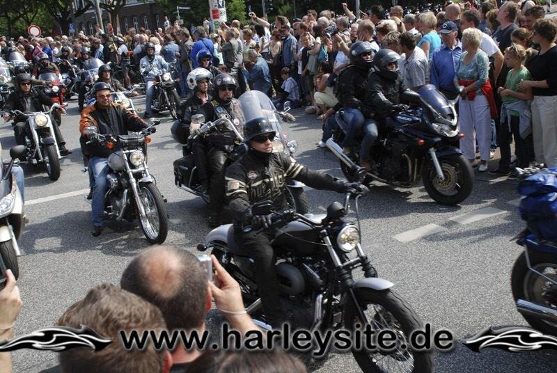 Hamburg Harley Days 2008-Ausfahrt-129