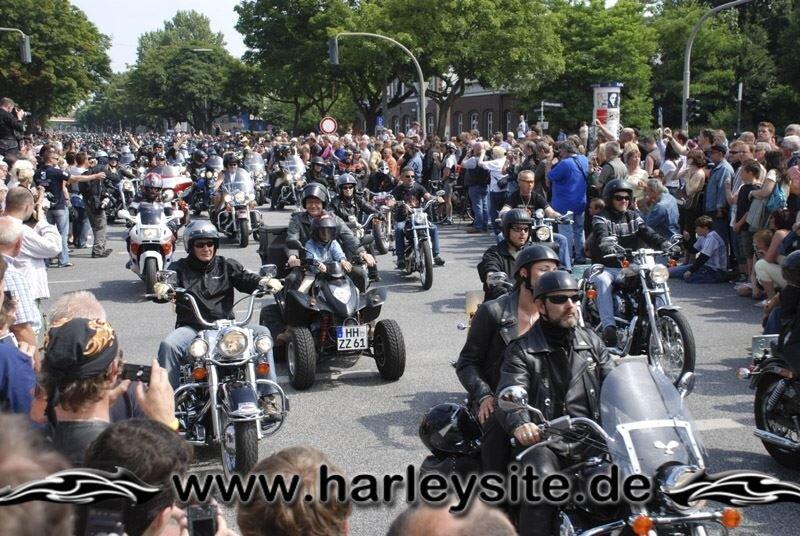 Hamburg Harley Days 2008-Ausfahrt-131
