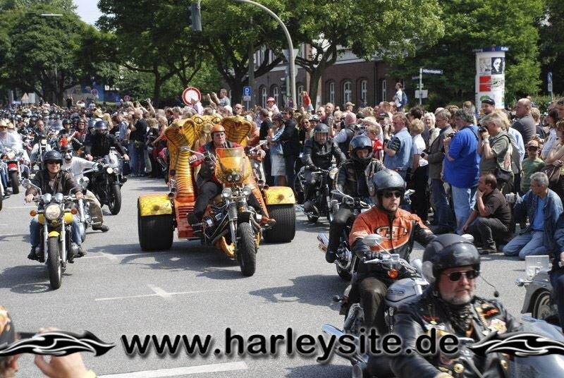 Hamburg Harley Days 2008-Ausfahrt-133