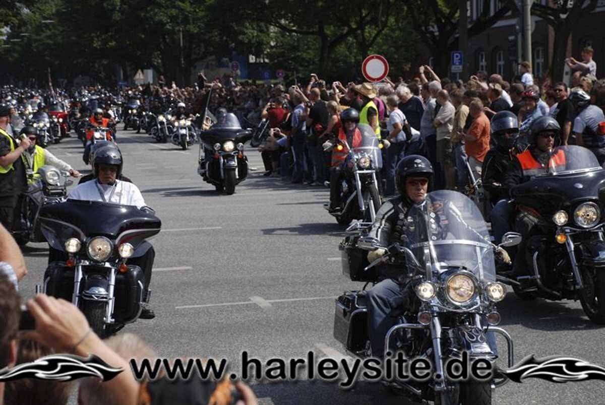 Hamburg Harley Days 2008-Ausfahrt-137