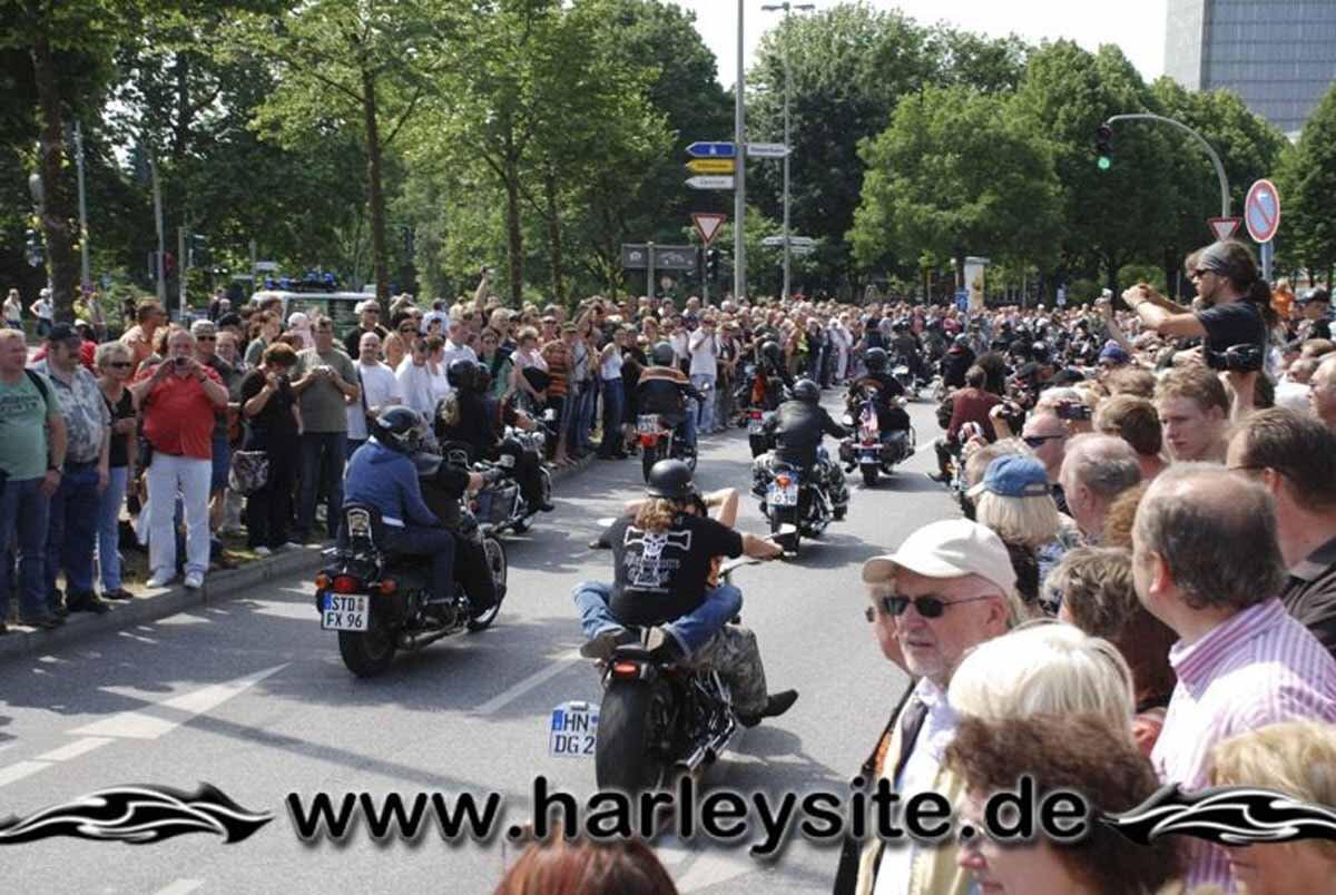 Hamburg Harley Days 2008-Ausfahrt-141