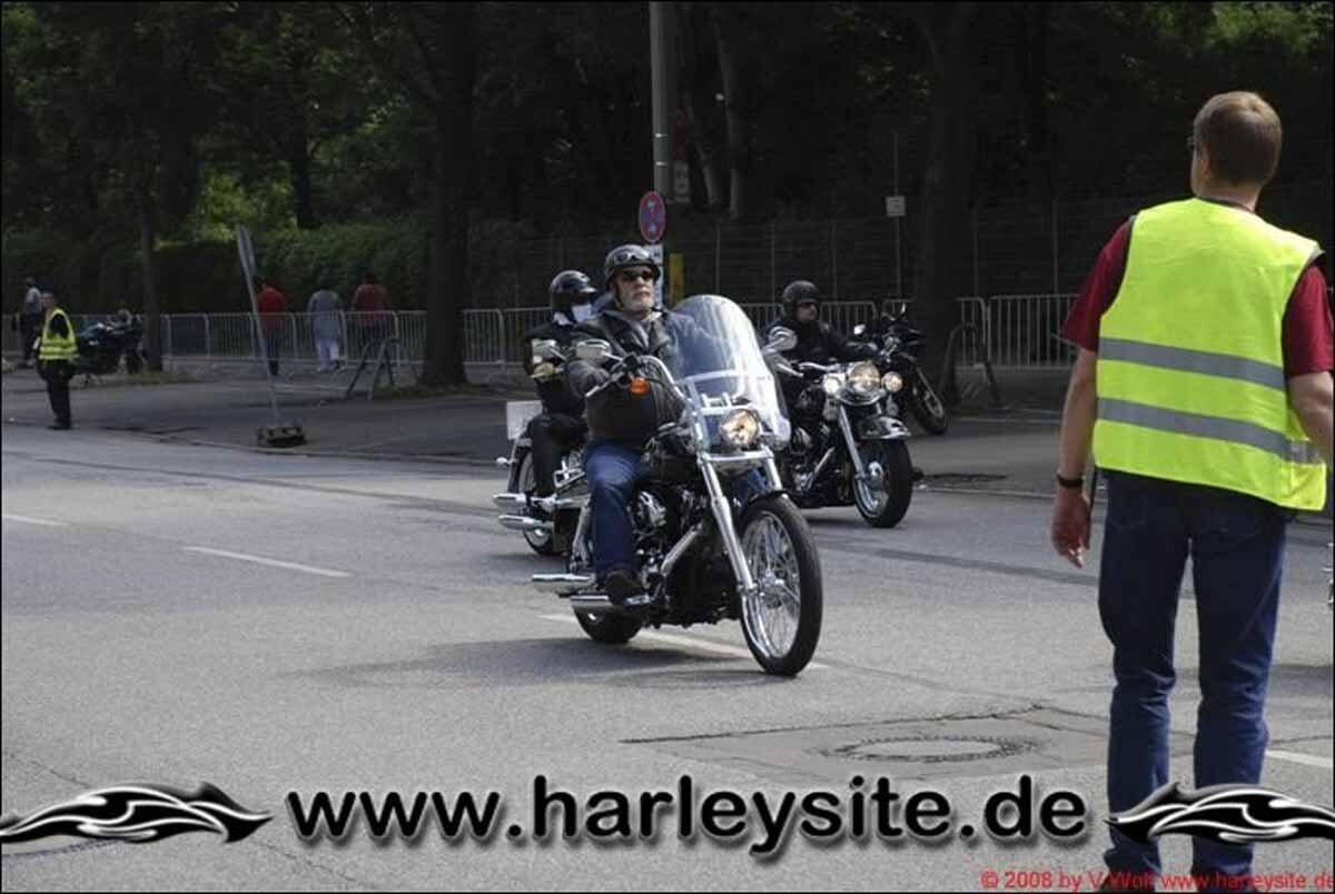 Hamburg Harley Days 2008-Ausfahrt-142