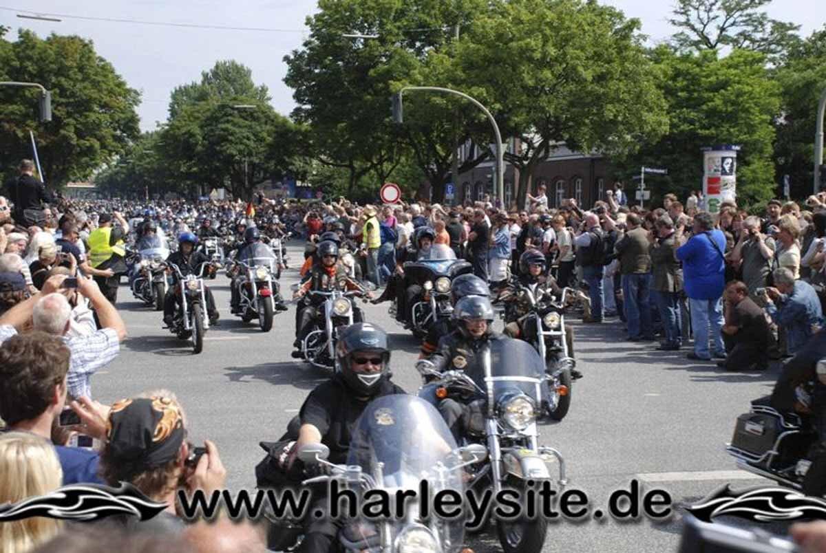 Hamburg Harley Days 2008-Ausfahrt-146