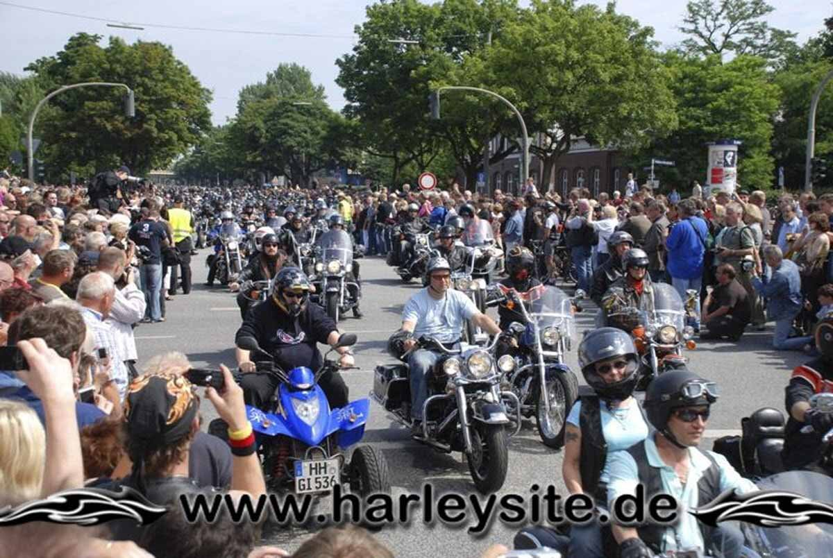 Hamburg Harley Days 2008-Ausfahrt-147