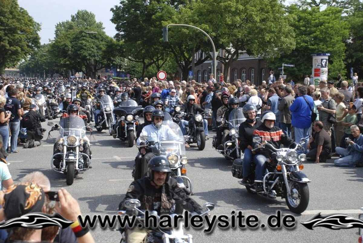 Hamburg Harley Days 2008-Ausfahrt-148