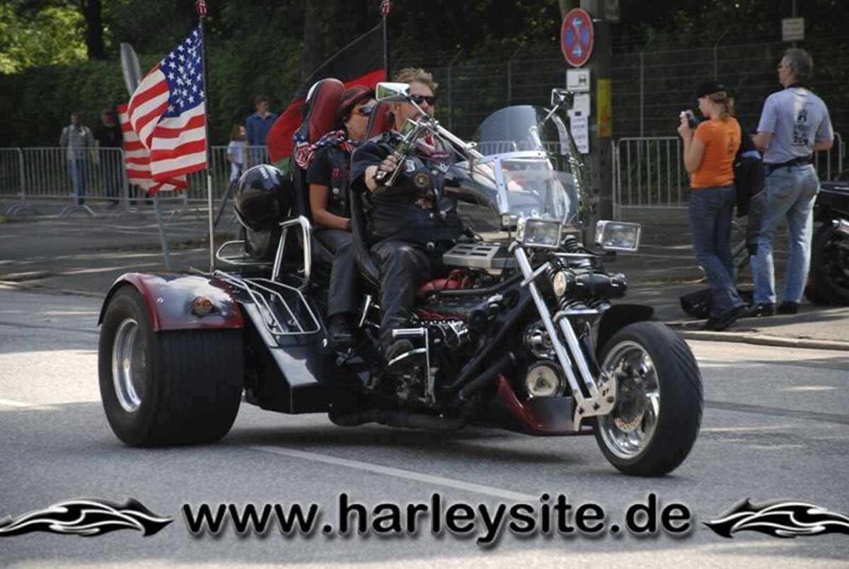 Hamburg Harley Days 2008-Ausfahrt-152