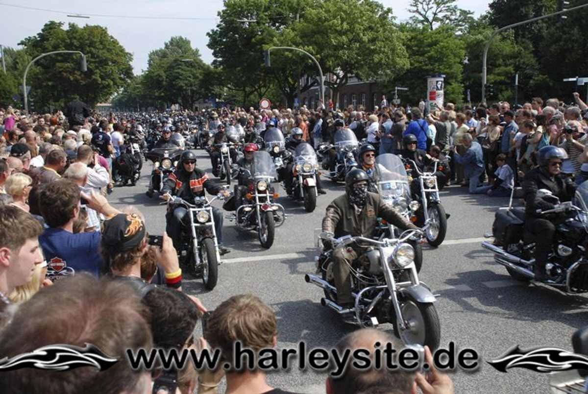 Hamburg Harley Days 2008-Ausfahrt-155