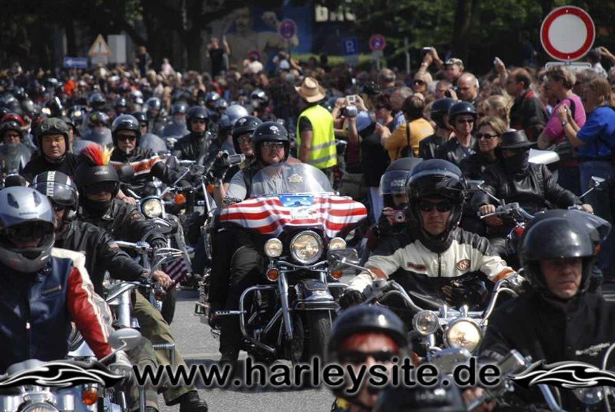 Hamburg Harley Days 2008-Ausfahrt-156