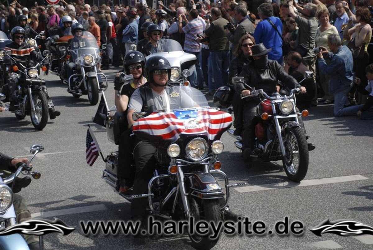 Hamburg Harley Days 2008-Ausfahrt-157