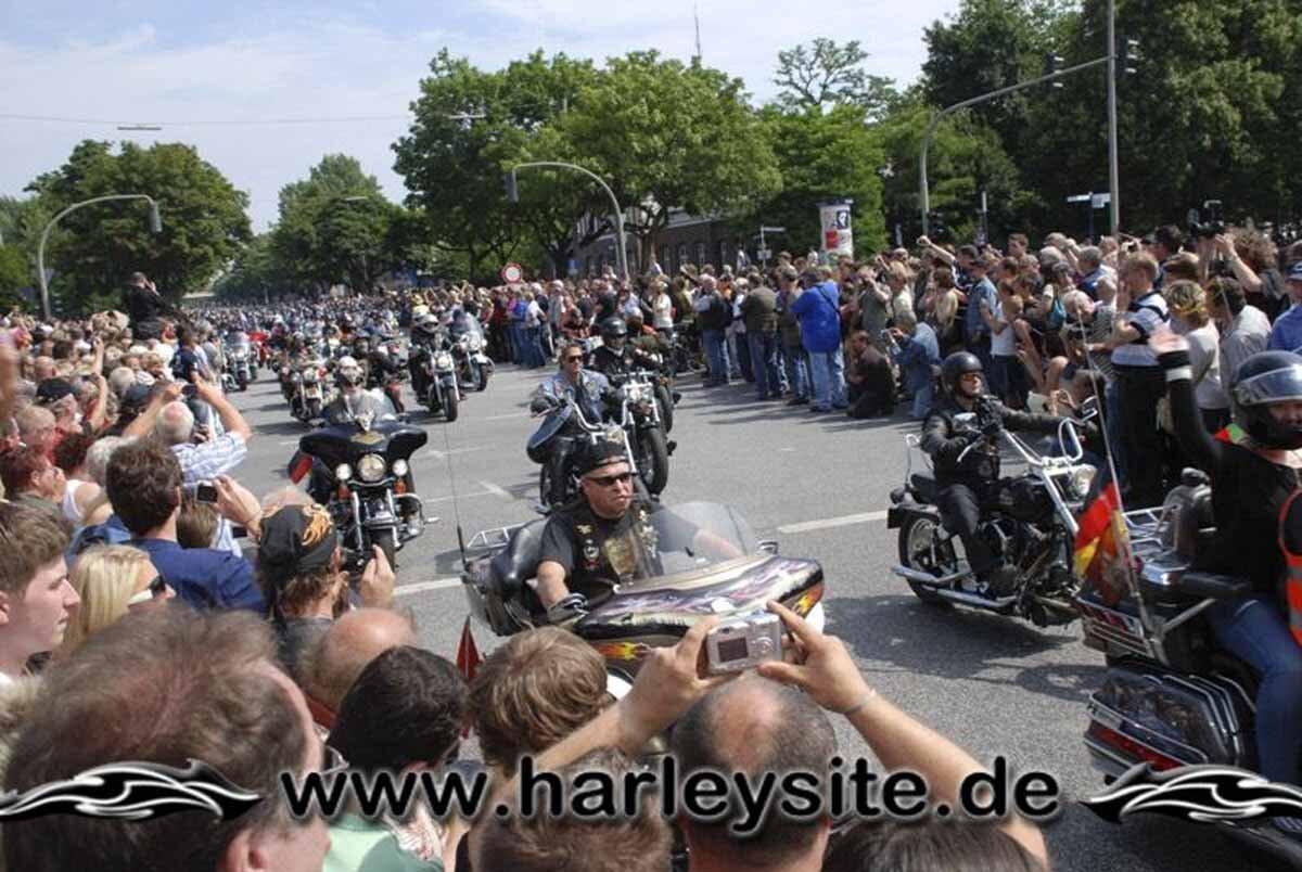 Hamburg Harley Days 2008-Ausfahrt-158