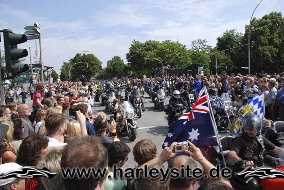 Hamburg Harley Days 2008-Ausfahrt-162
