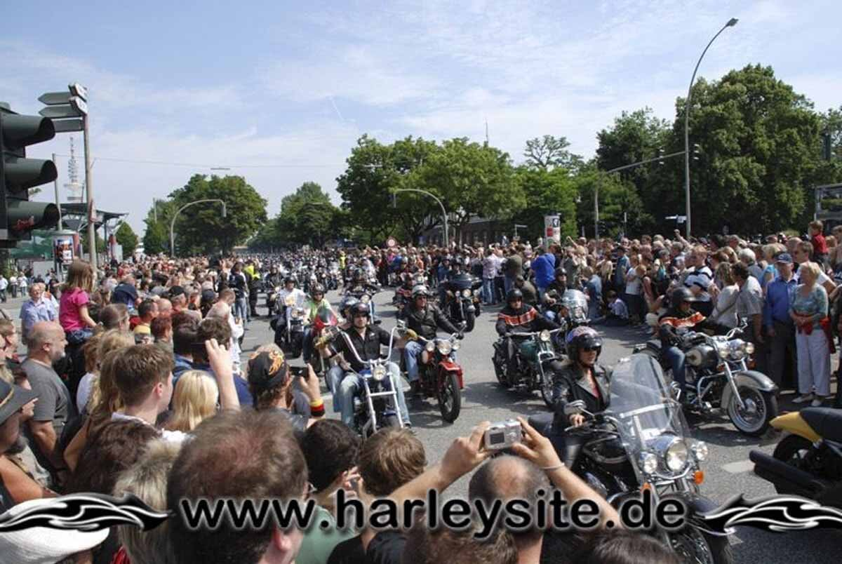 Hamburg Harley Days 2008-Ausfahrt-167
