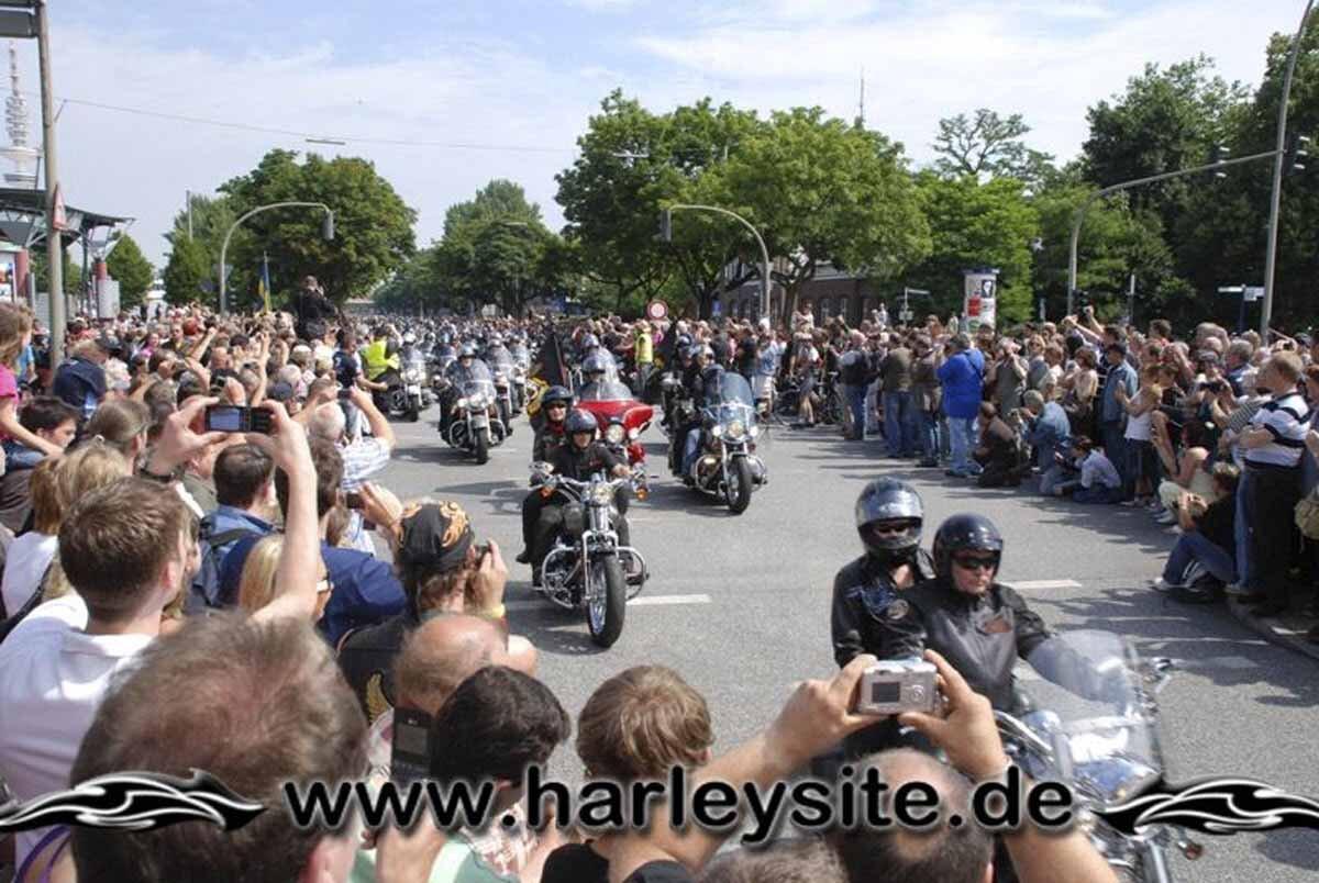 Hamburg Harley Days 2008-Ausfahrt-174