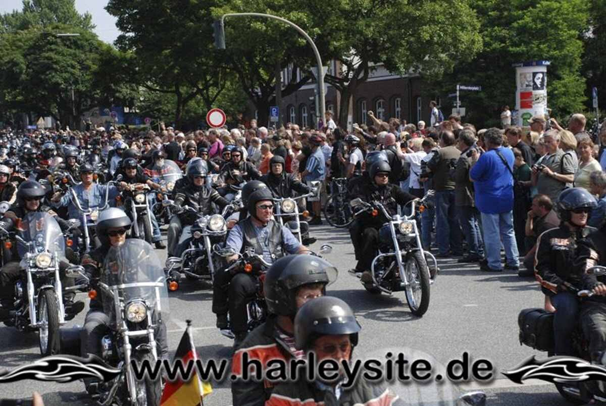 Hamburg Harley Days 2008-Ausfahrt-184