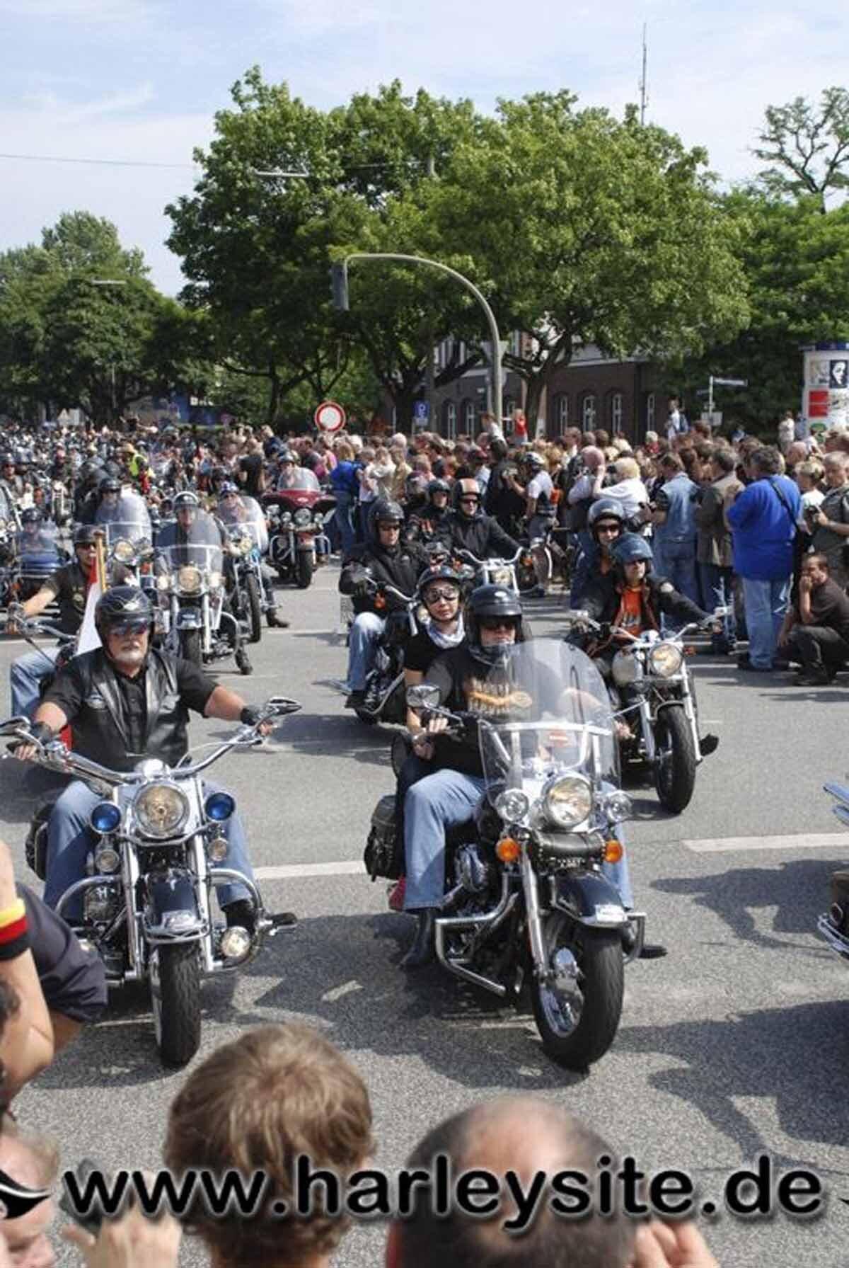 Hamburg Harley Days 2008-Ausfahrt-187