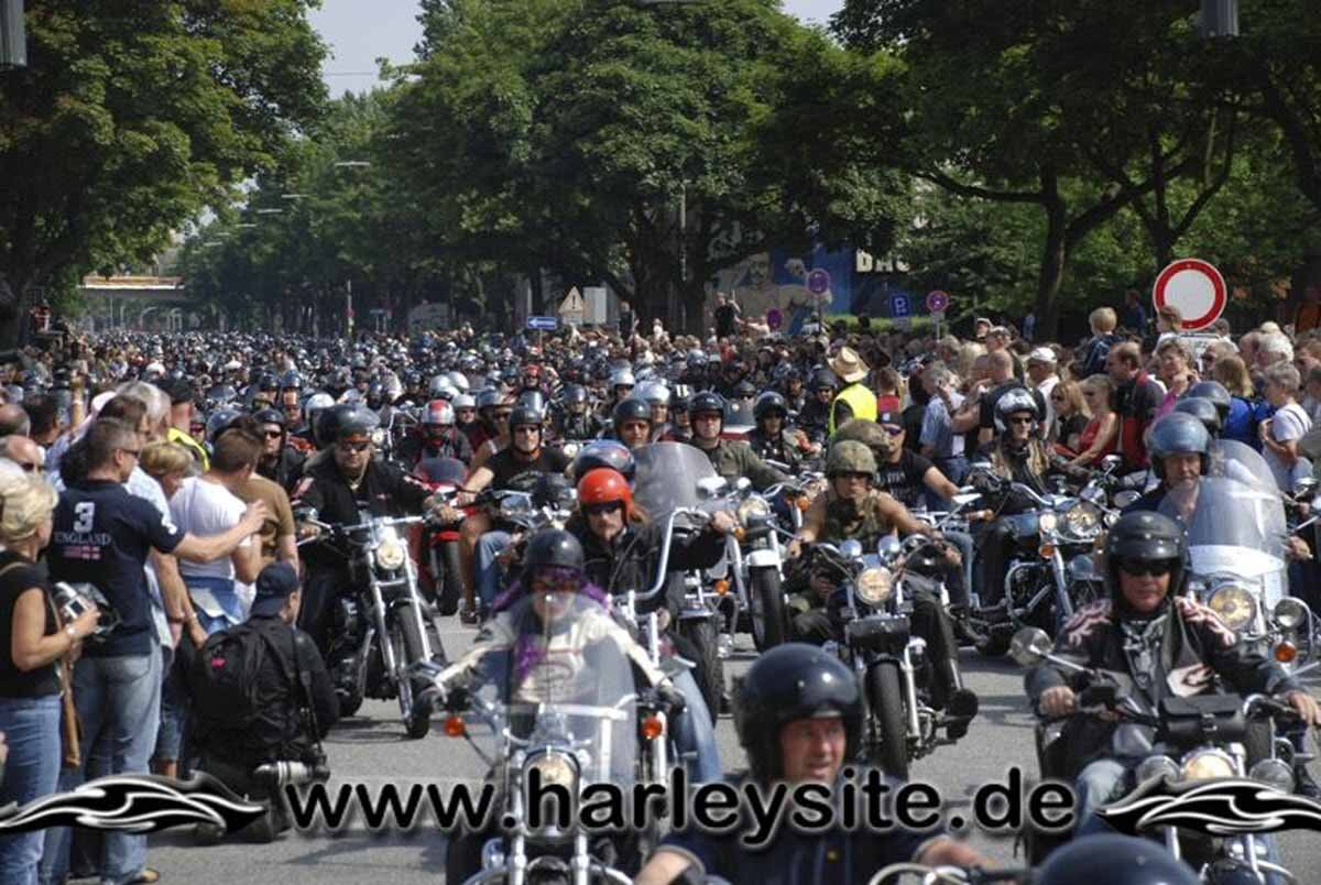 Hamburg Harley Days 2008-Ausfahrt-195