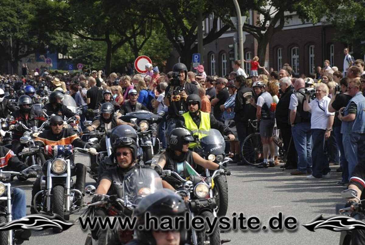 Hamburg Harley Days 2008-Ausfahrt-198