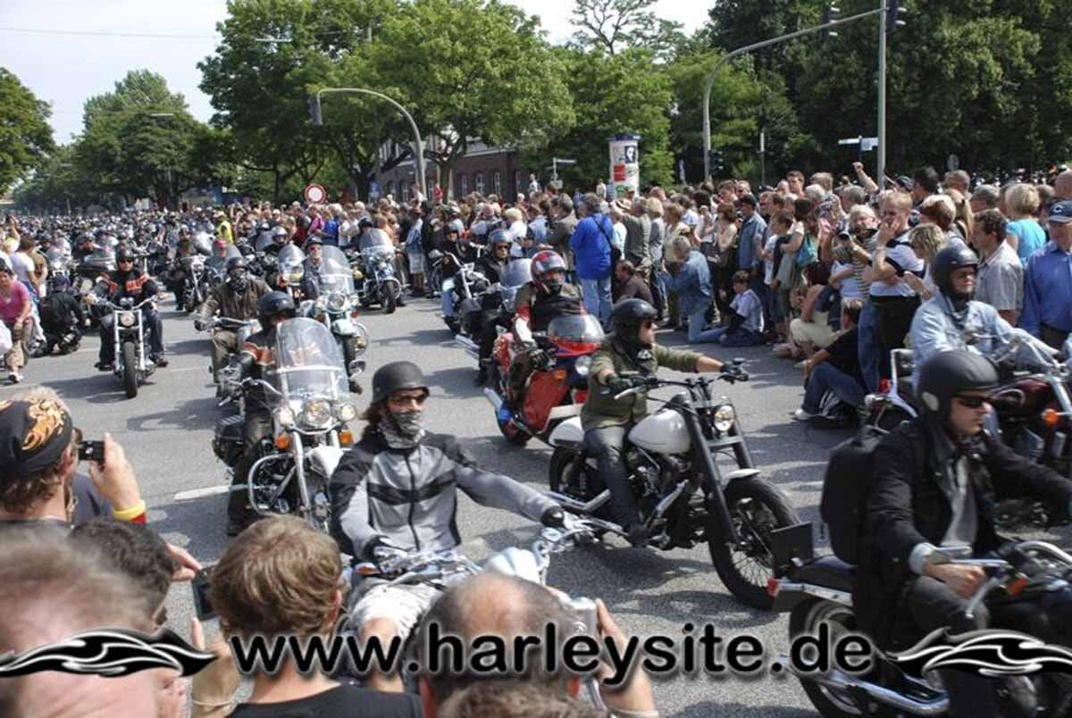 Hamburg Harley Days 2008-Ausfahrt-204