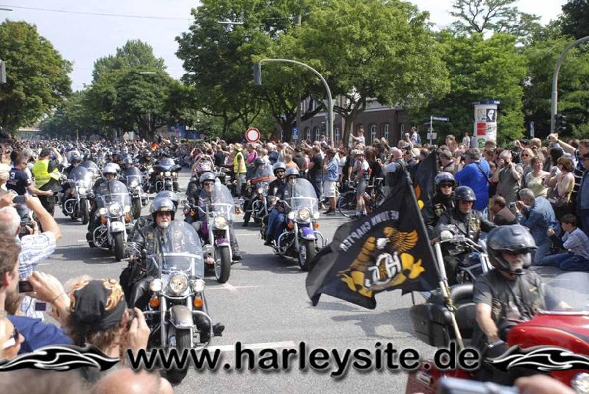Hamburg Harley Days 2008-Ausfahrt-205