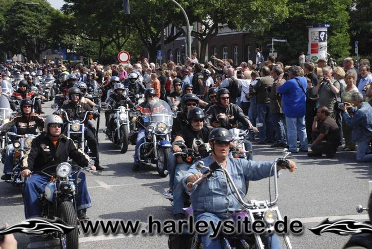 Hamburg Harley Days 2008-Ausfahrt-206