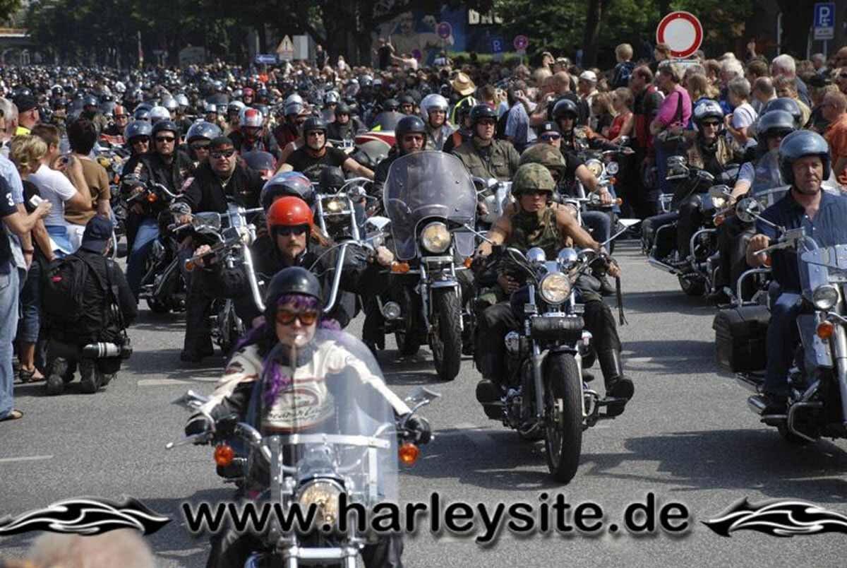 Hamburg Harley Days 2008-Ausfahrt-209